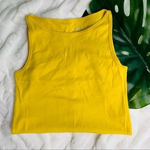 Catherine Melandrino Yellow Dress